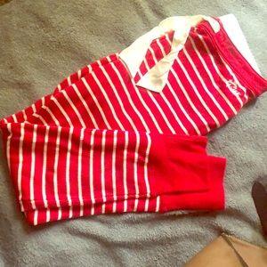 Hollister striped pijama pants